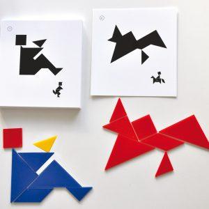 Tangram kreativa figurer