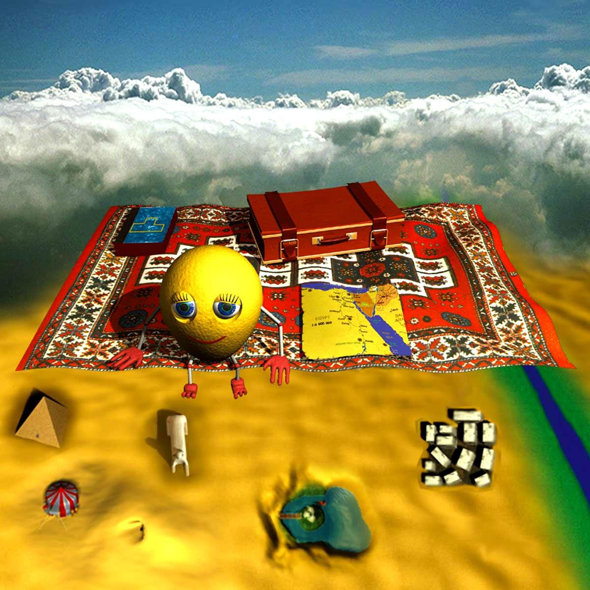 Den flygande mattan