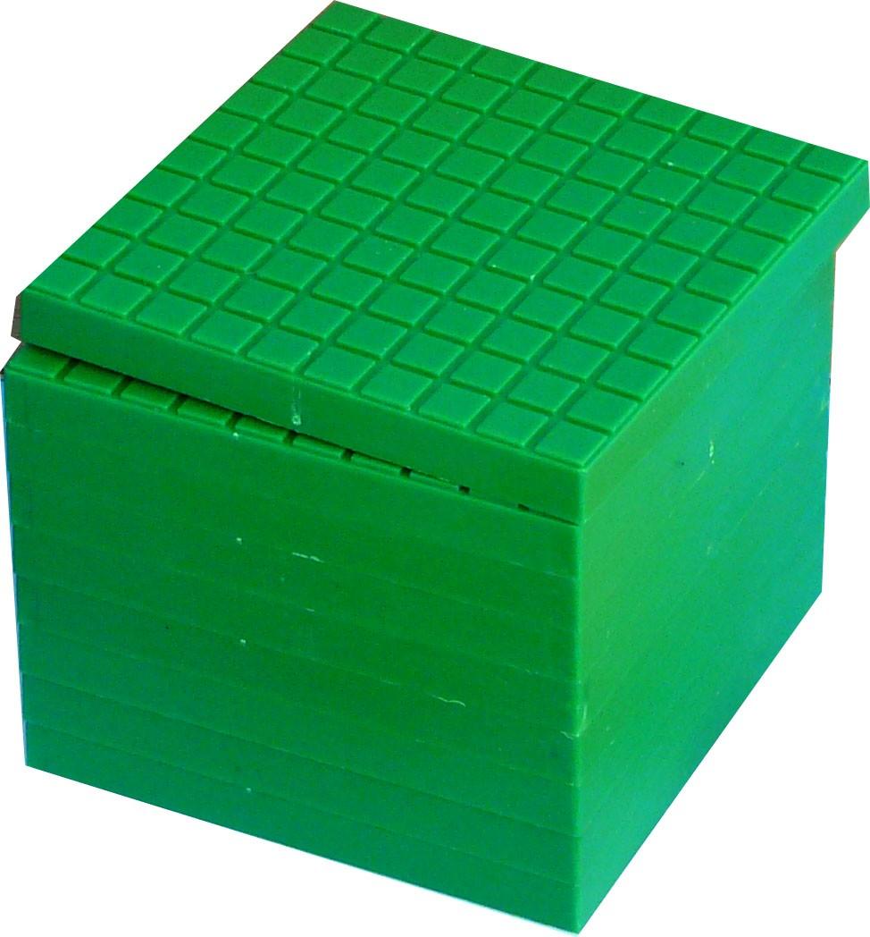 Bas10, 10 hundraplattor gröna
