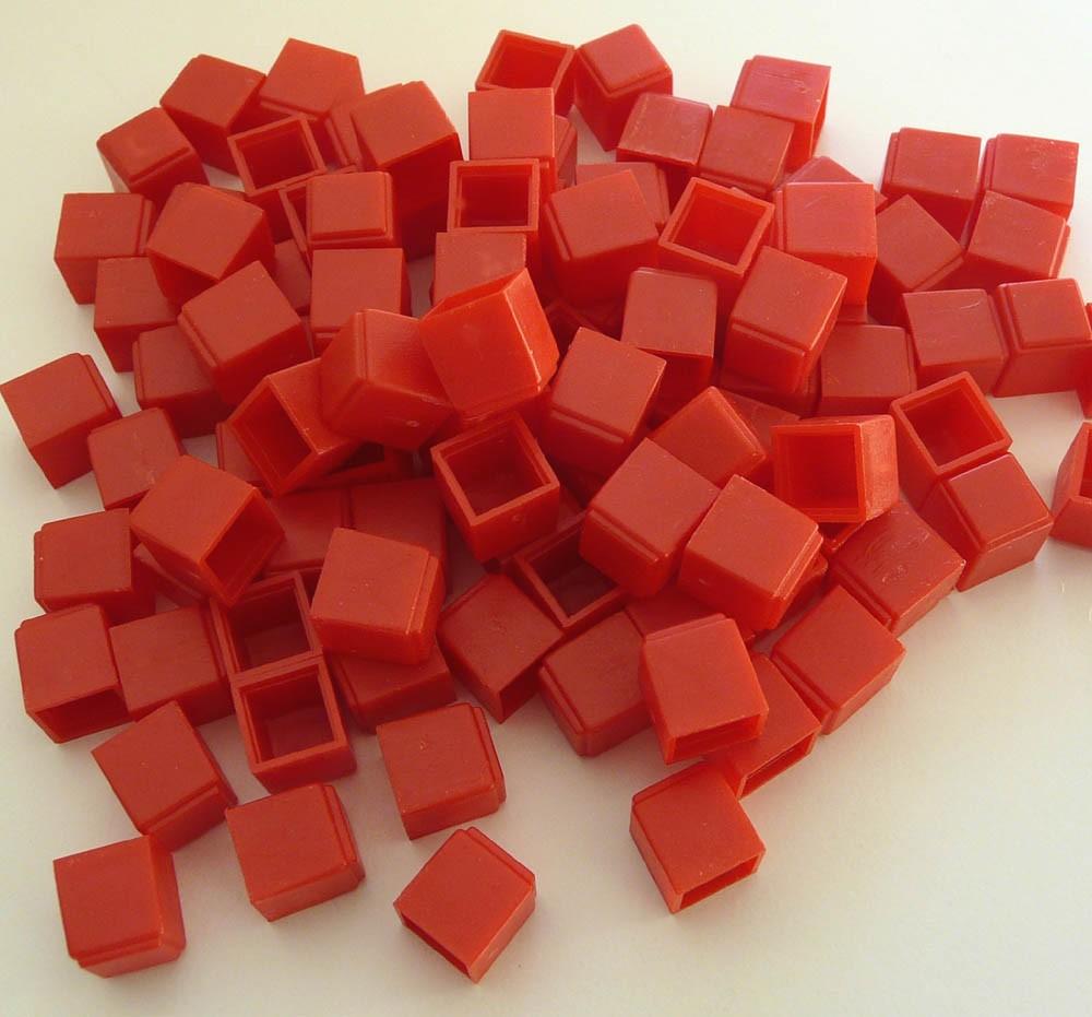 Bas10 grundsats,200 entalskuber röda