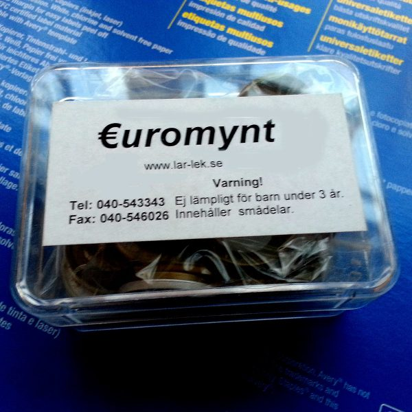 Euromynt, kompleteringssats