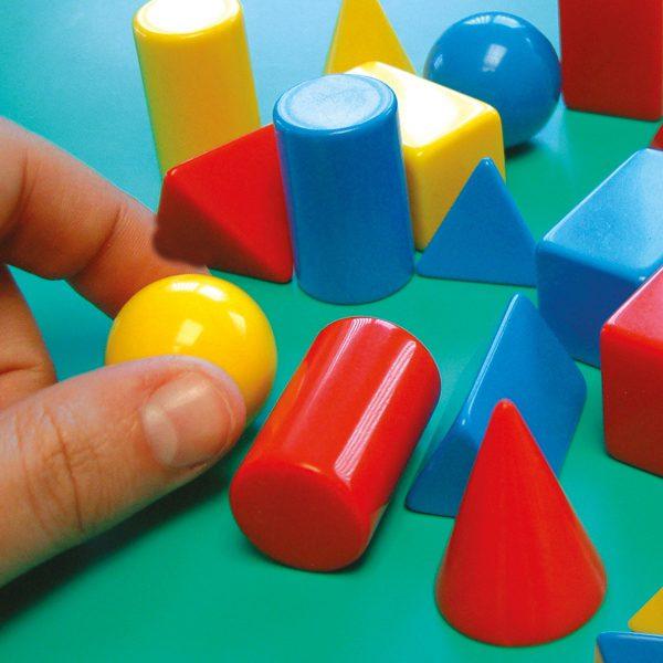 Geometriska 3D former 24-pack