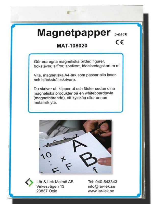 Magnetiskt papper
