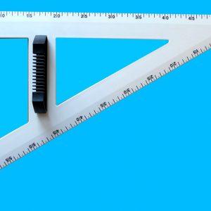 Vinkelhake 60 grader 60 cm