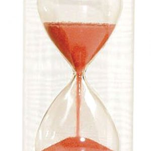Timglas 30s, röd