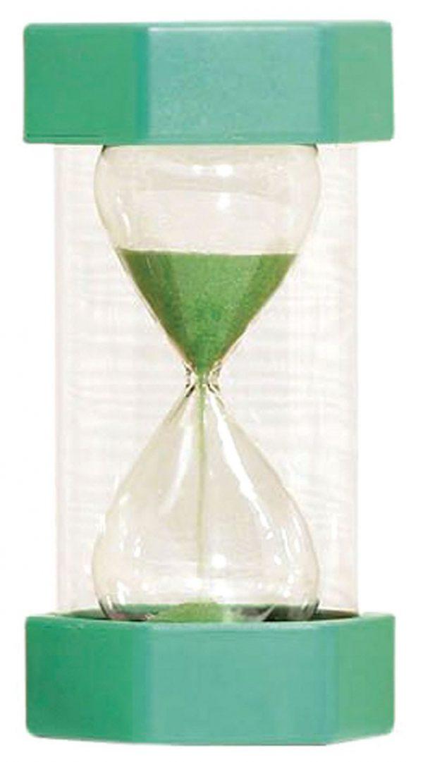 Timglas 1min, grön
