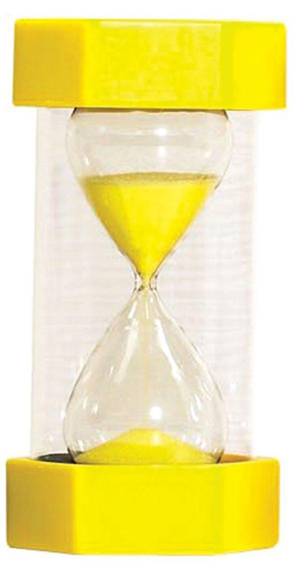 Timglas 3min, gul