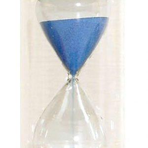 Timglas 5min, blå