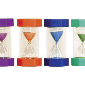 Timglas 4-pack 1, 5, 10, 15min
