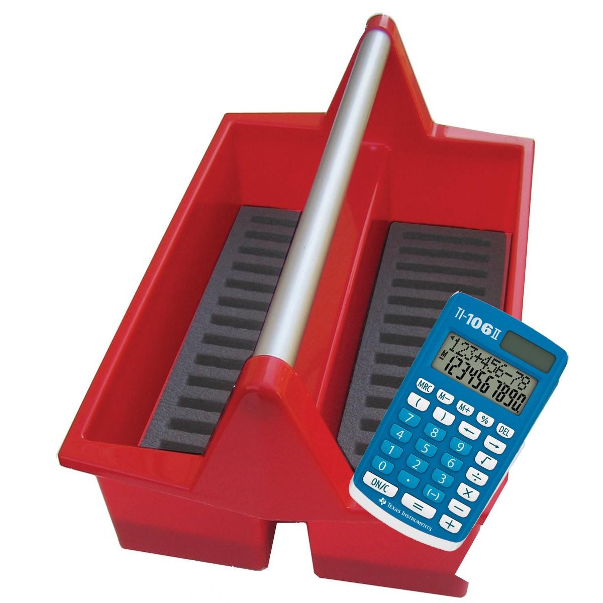 Miniräknare TI-106 II, Texas - solcell 30-pack