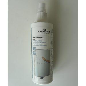Whiteboardrengöring sprayflaska