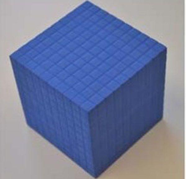 1 tusenkub, magnetisk
