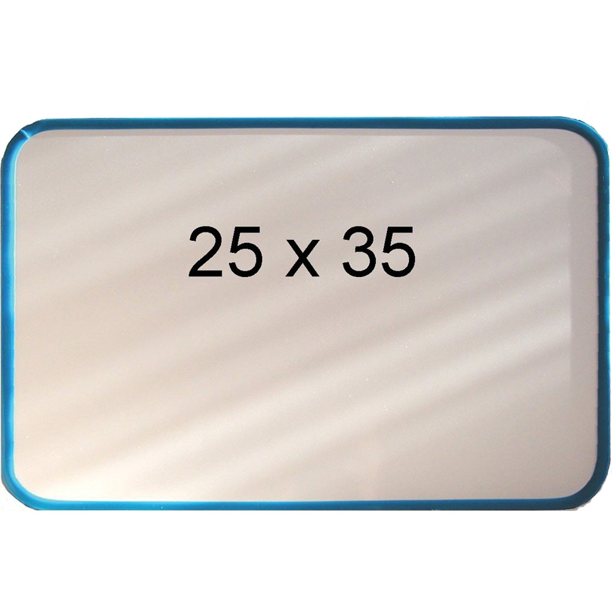 Magnet & whiteboardtavla 25 x 35 blå ram