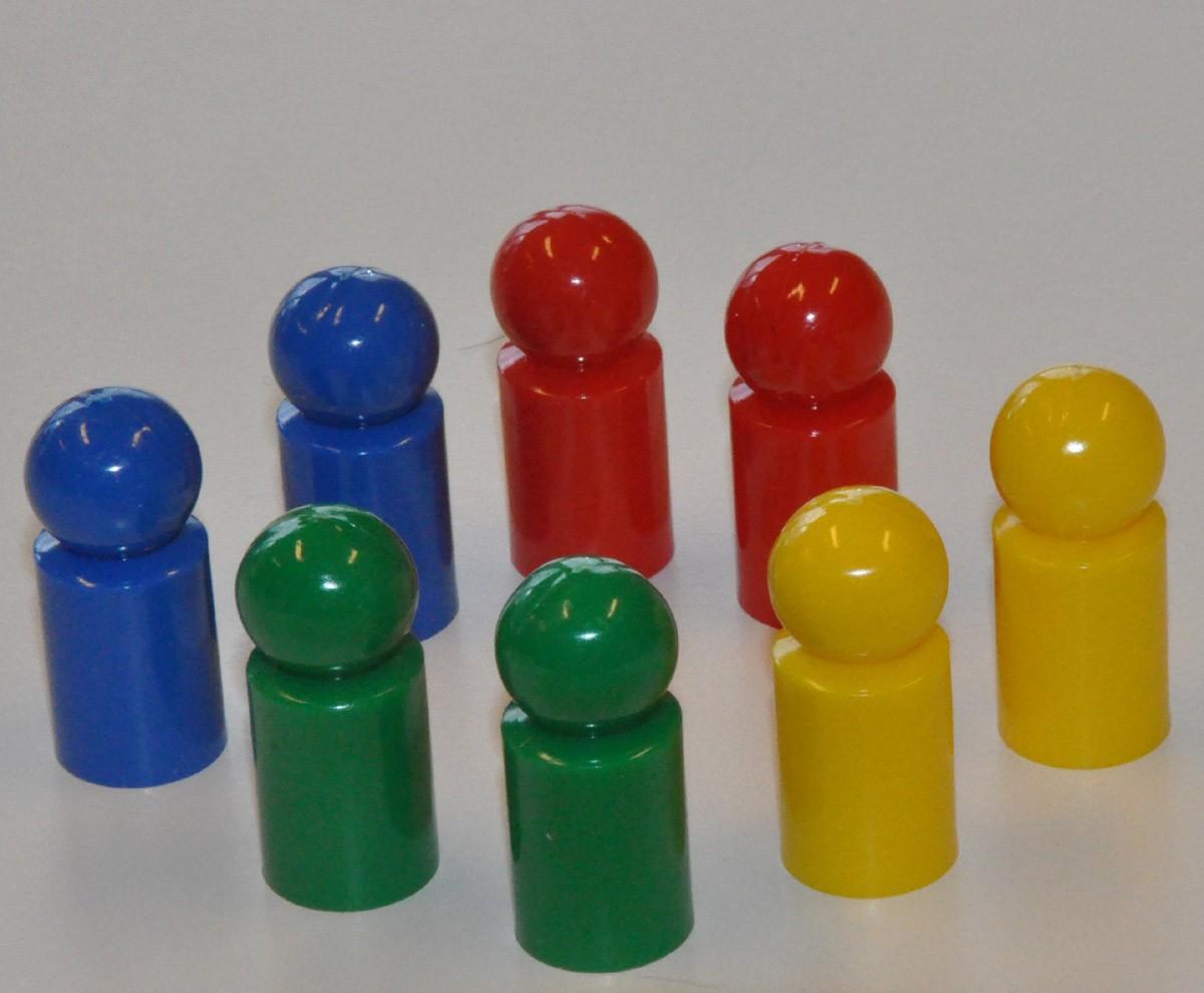 Spelpjäser små 8-pack