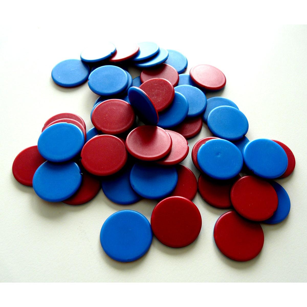 Counters tvåfärgade 50-pack