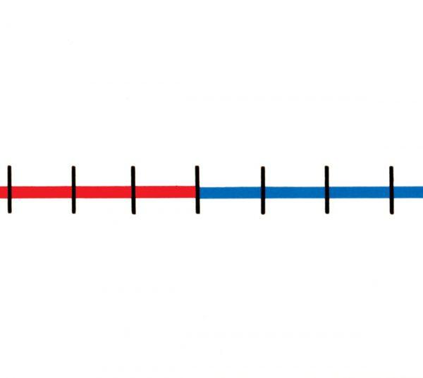 Tallinje Blank, 100x6cm, 5-pack