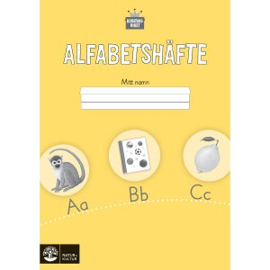 Bokstavsriket - Alfabetshäfte, 8-pack