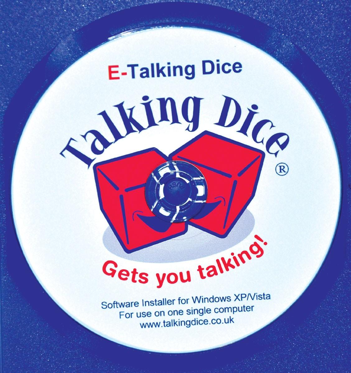 E-Talking dice - Språktärningar, 1-anv licens