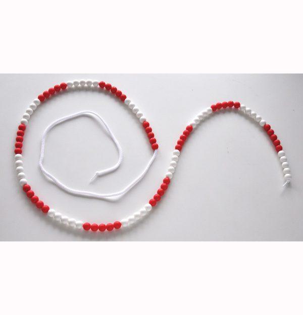 Pärlbandet 1-100 10 st/färg