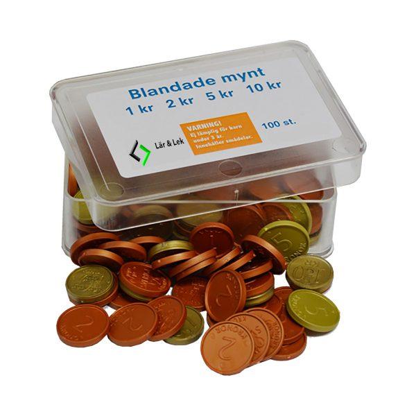 Blandade mynt