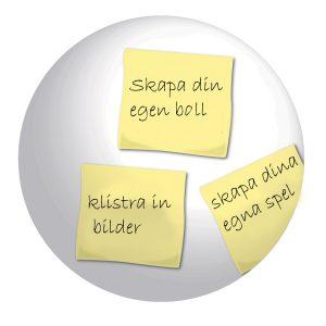 Blank boll