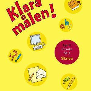 Klara målen - Skriva