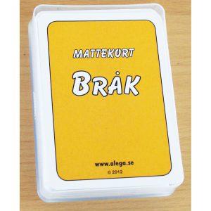 Mattekort - Bråktal