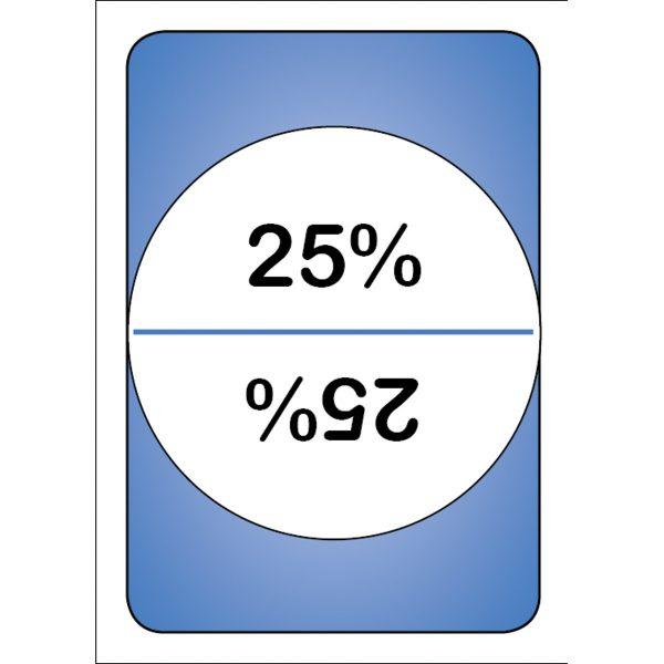 Mattekort - olika talformer