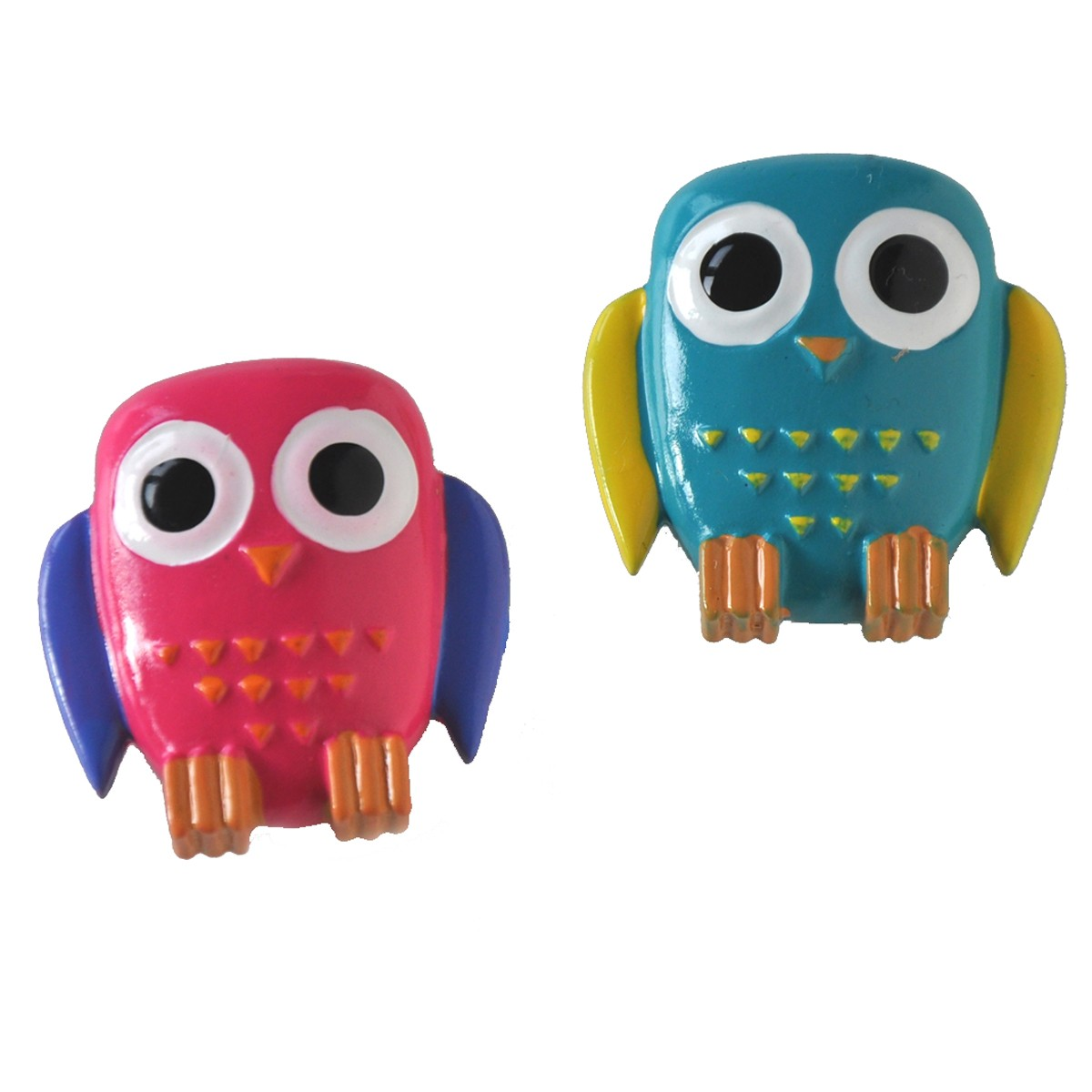 "Superstarka magneter ""ugglor"" 2-pack"