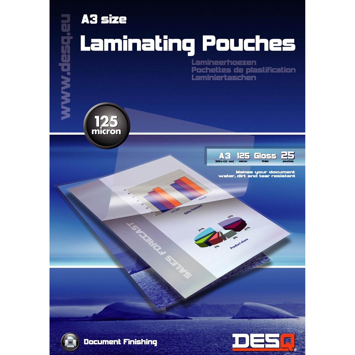 Lamineringsfickor A3 25-pack