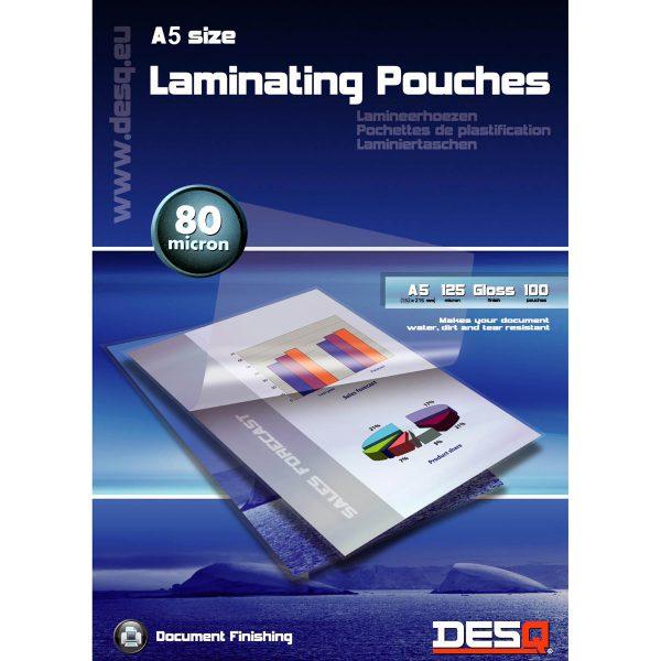 Lamineringsfickor A5 100-pack