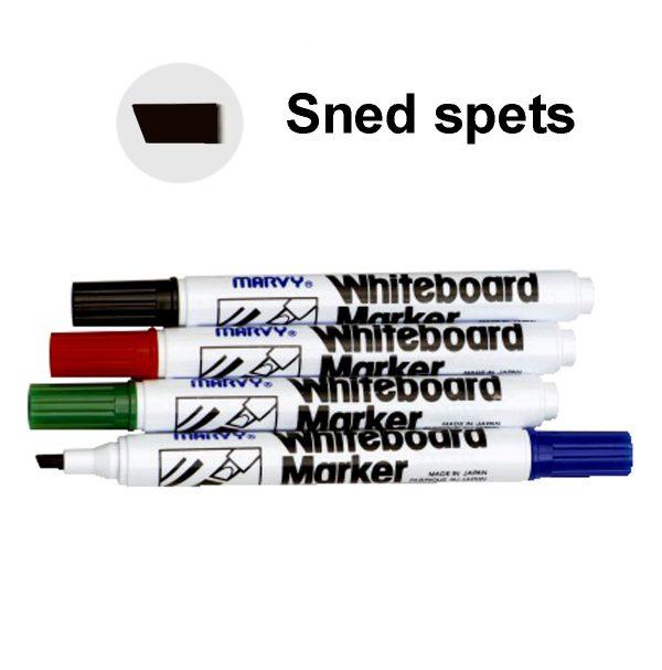 Whiteboard Marker MARVY sned spets 4 färger/fp