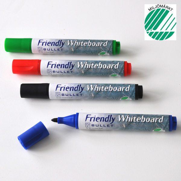 Whiteboard Marker FRIENDLY rund (4)