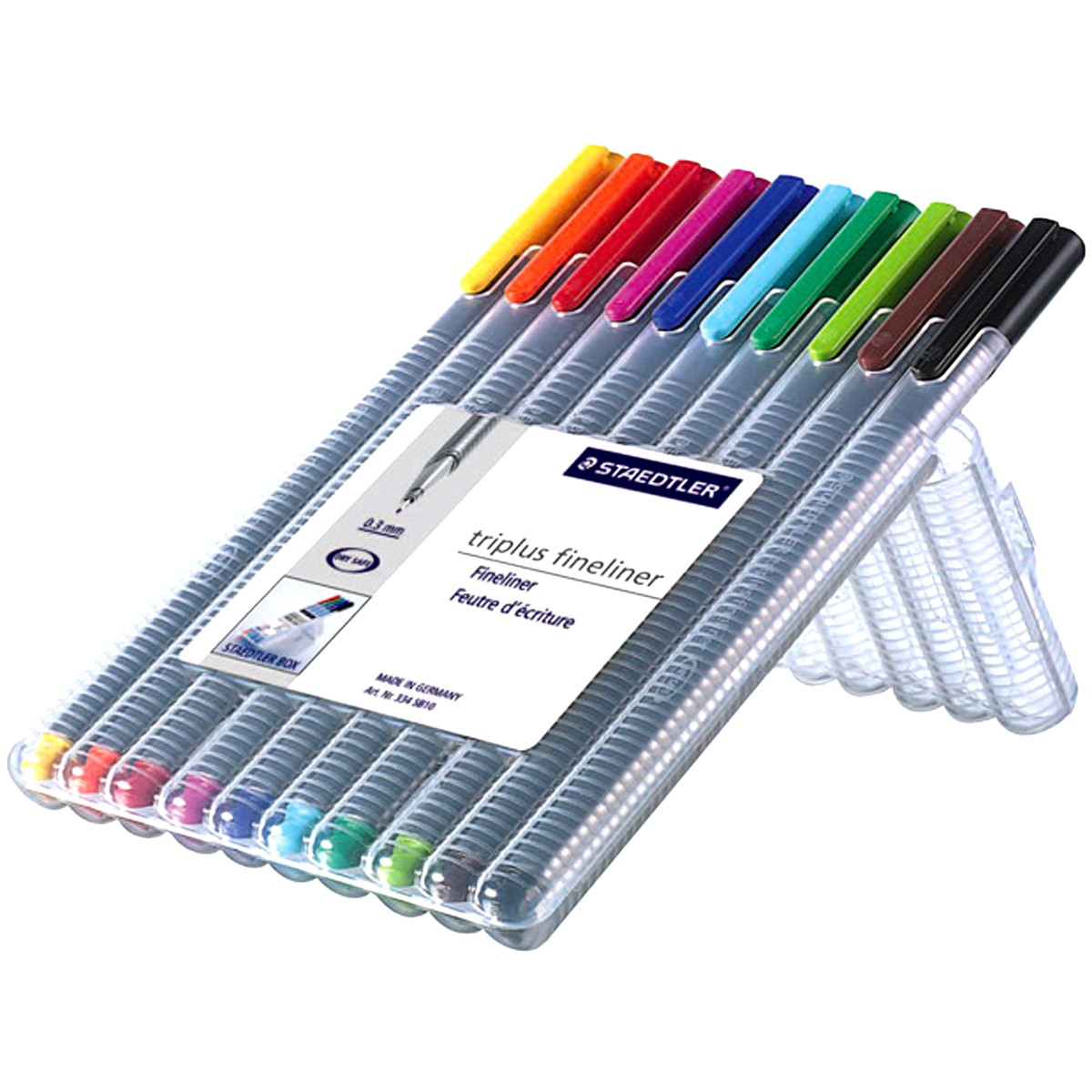 Fineliner STAEDTLER Triplus Color (10)