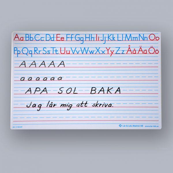 Alfabetstavla A4 30-pack, Svenska
