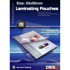 Lamineringsfickor 65x95mm 100-pack