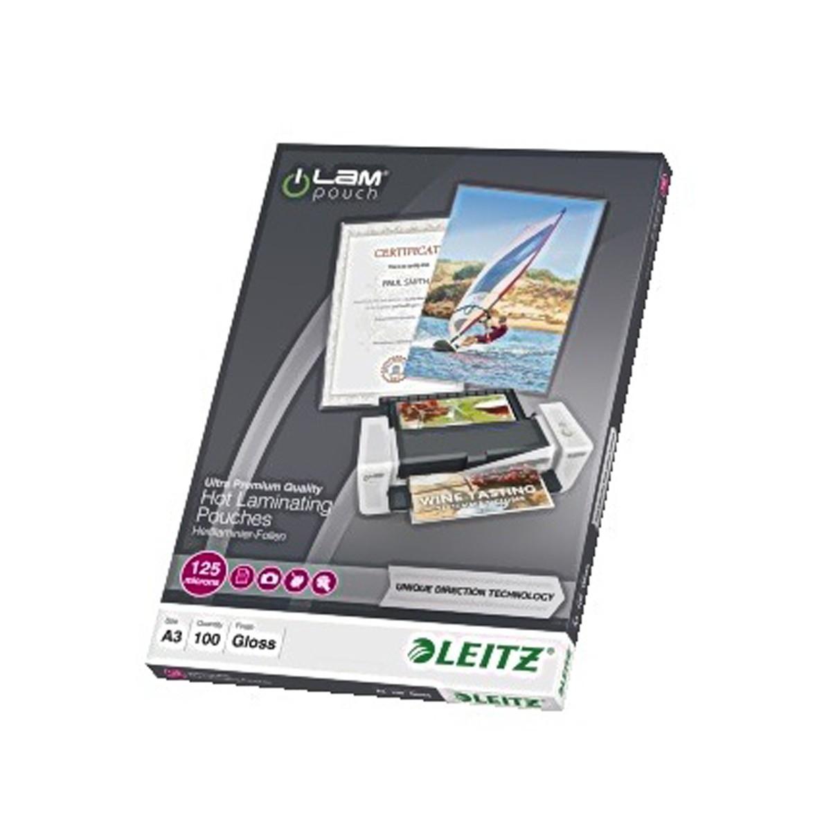 Laminat A3 UDT 125 mic. 100/fp