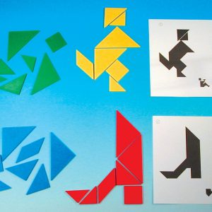 Tangram, kreativa figurer