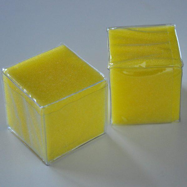Tärningar med fickor 6 x 6 cm 2-pack