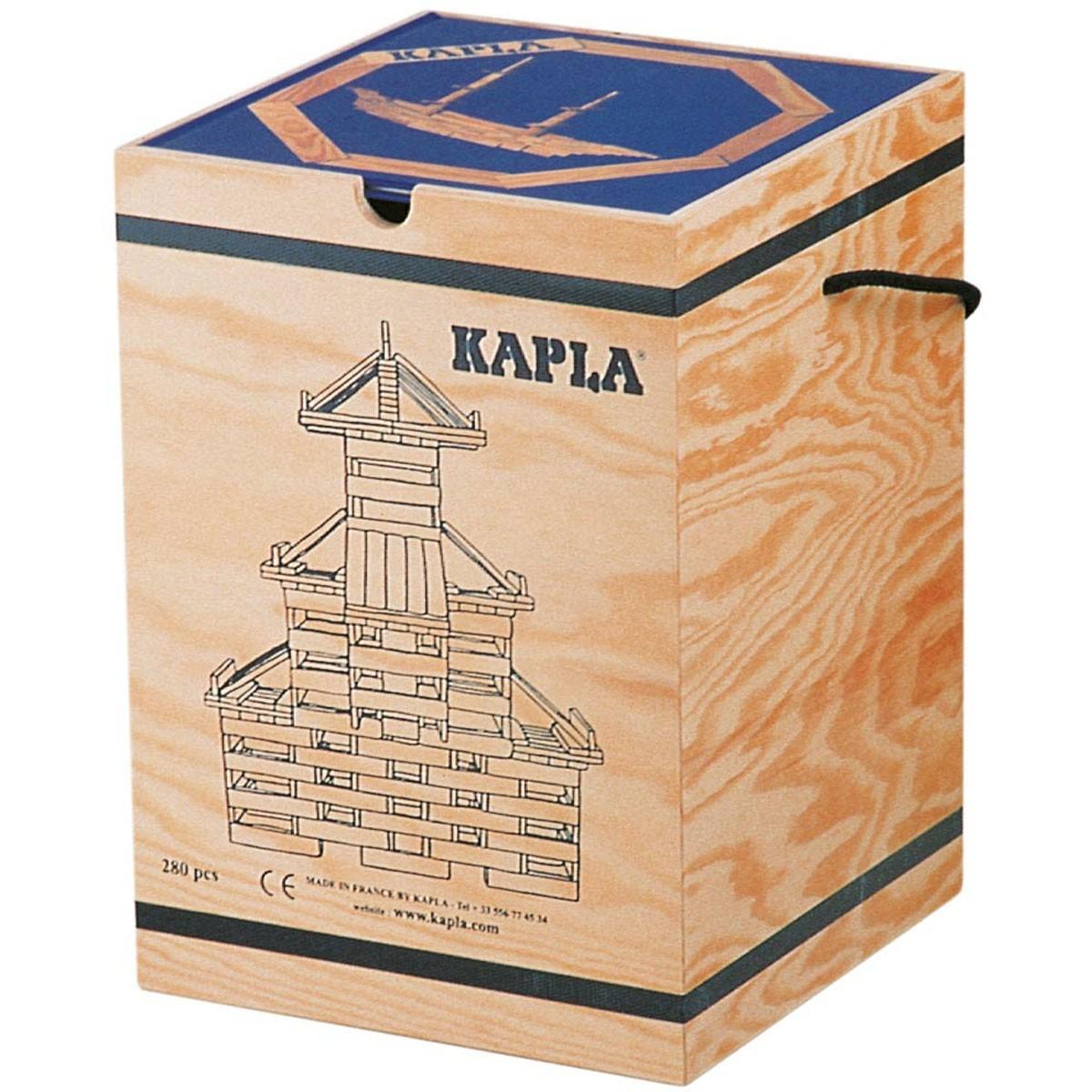 Kaplastavar 280 delar + Kaplabok blå