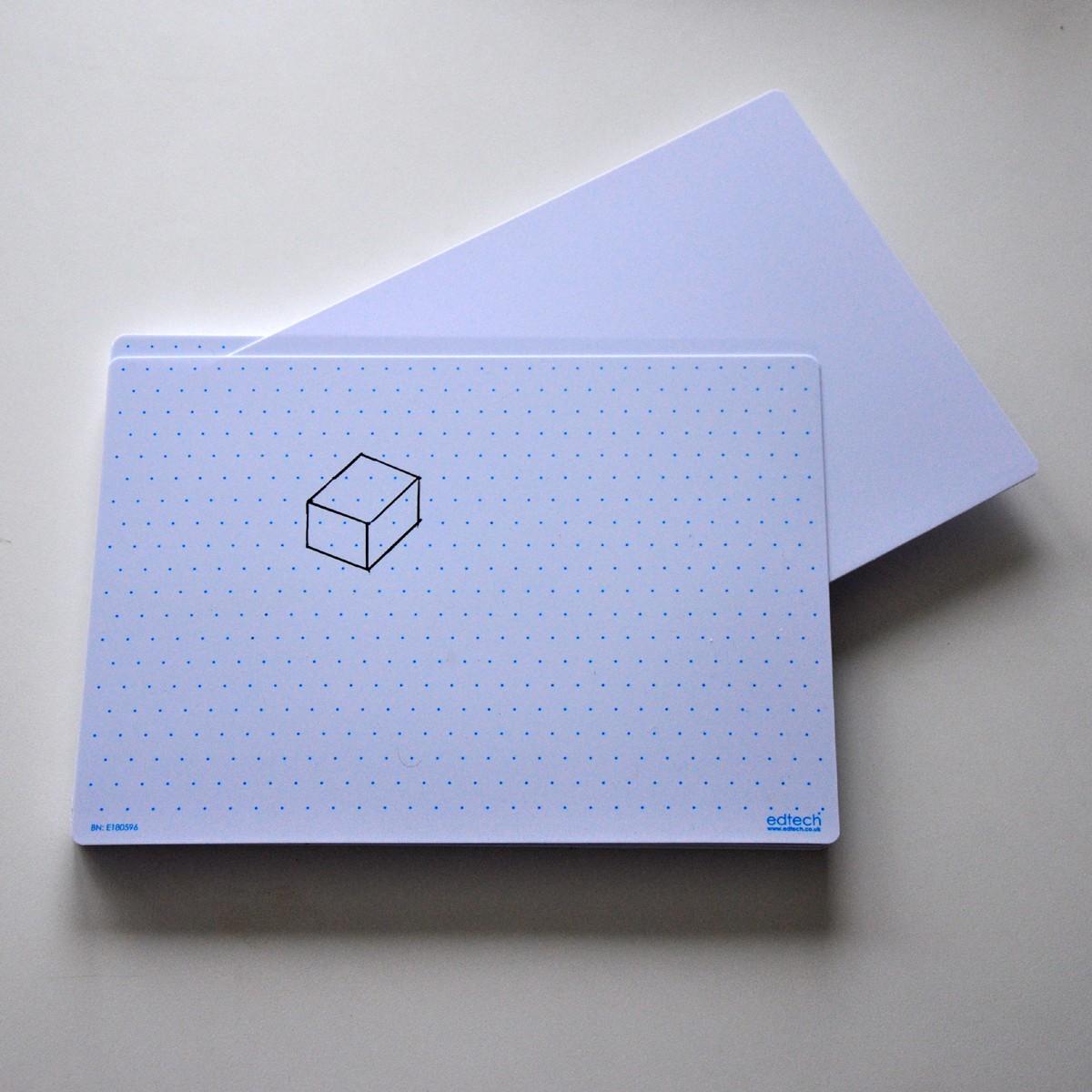 Isometrisk Whiteboard A4 30-pack