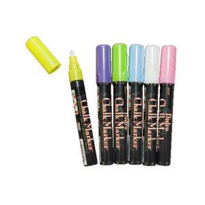 Fluorescerande pennor 4-pack