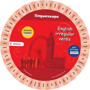 Oregelbundna verb - snurran Engelska