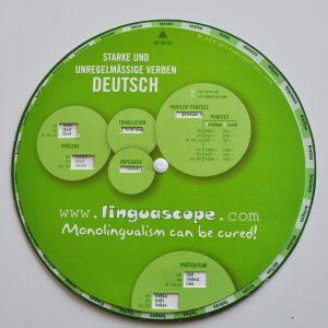 Oregelbundna verb - snurran Tyska
