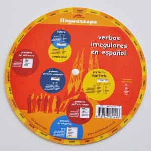 Oregelbundna verb - snurran Spanska