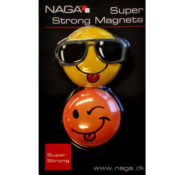 "Supermagneter ""Smiley"" 2-pack"
