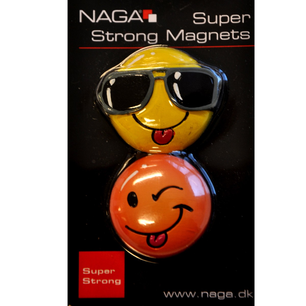 "Supermagneter ""Smiley"" 2-pack"