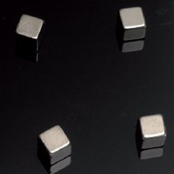 Supermagneter kuber 4-pack