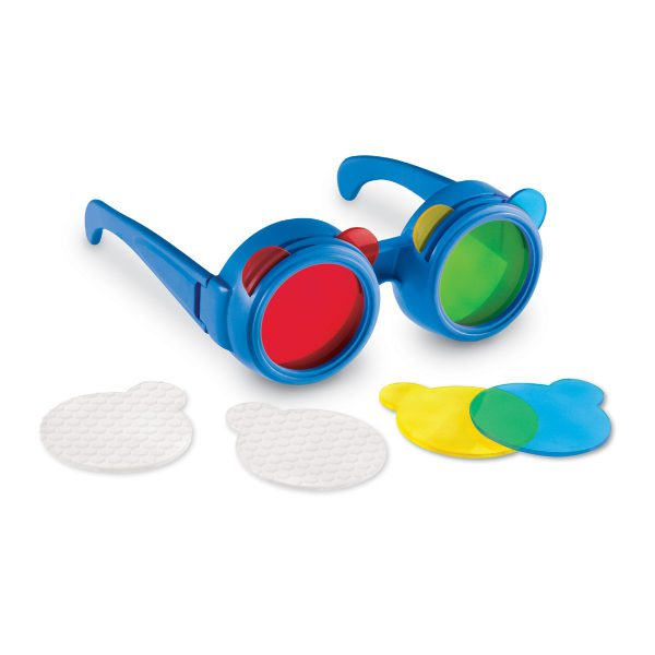 Glasögon för inlärning av färger