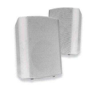 VivoLink Active Speaker Set, White